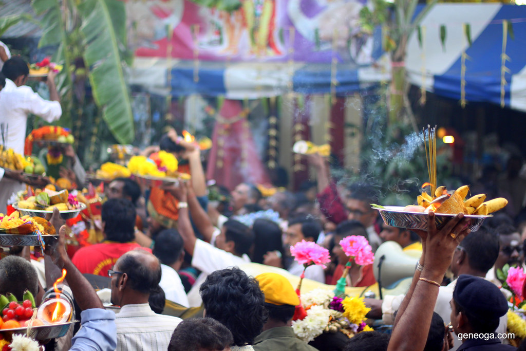 The colourful devotees of Lord Muruga