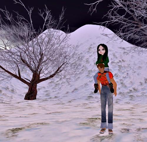 chacha doll snow