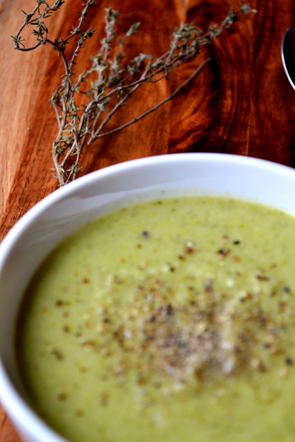 Broccoli and Pea Soup Recipe (4)