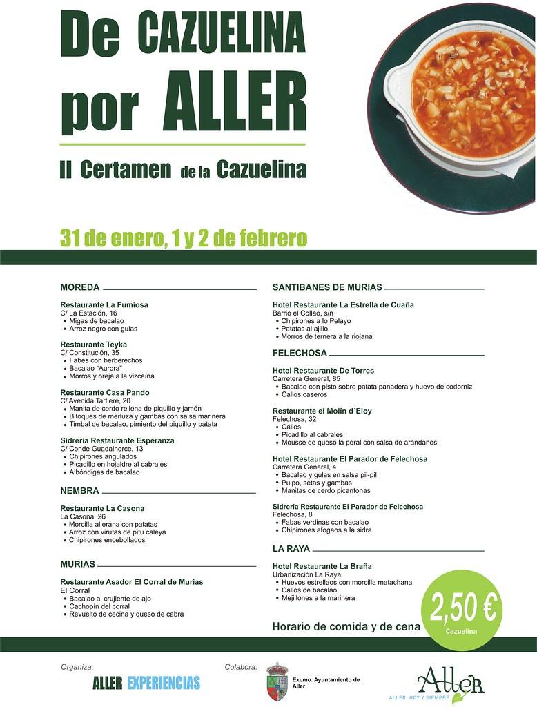 II Certamen de la Cazuelina