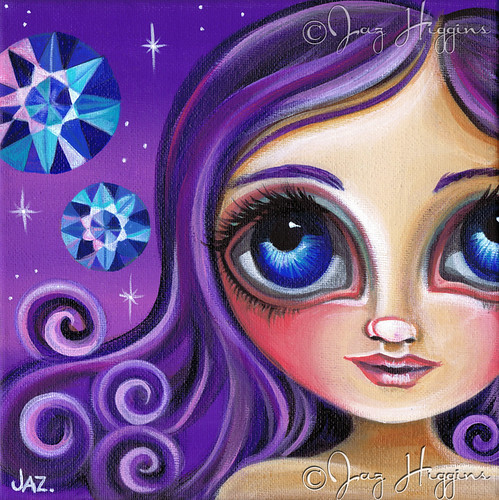 """Like A Diamond In The Sky"" Painting by Jaz Higgins"