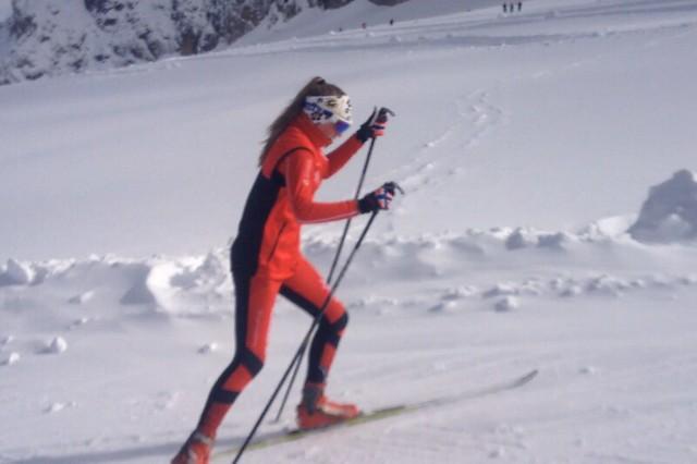 2014-02-09 Hanna Kristine Larsen kretsmester i sprint skøyting
