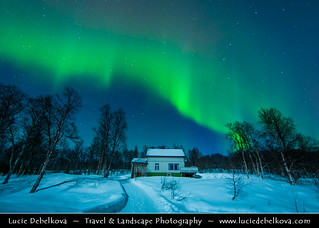 """""""Where do you live ?"""" - """"Oh, just in the house under the Northern Lights""""  - Norway - North of the Arctic Circle -"""
