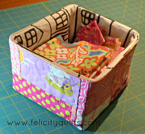 Scrappy Pink Box