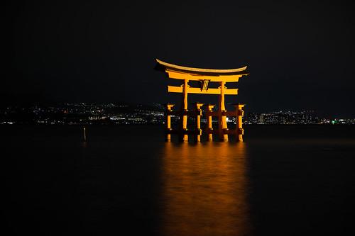 Itsukushima Shrine Torii Arch
