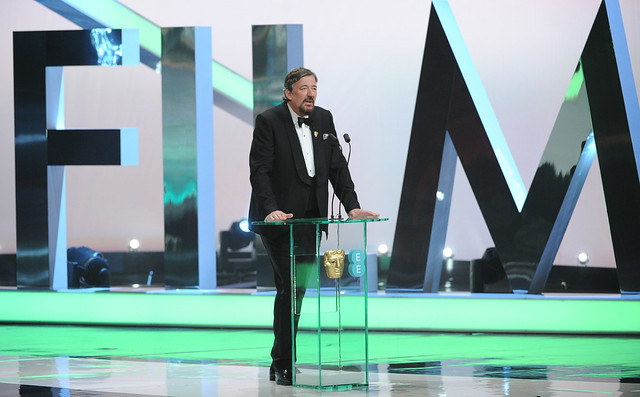 Stephen Fry presenting the EE British Academy Film Awards Ceremony at the Royal Opera House, 16 Feb 2014 © BAFTAs