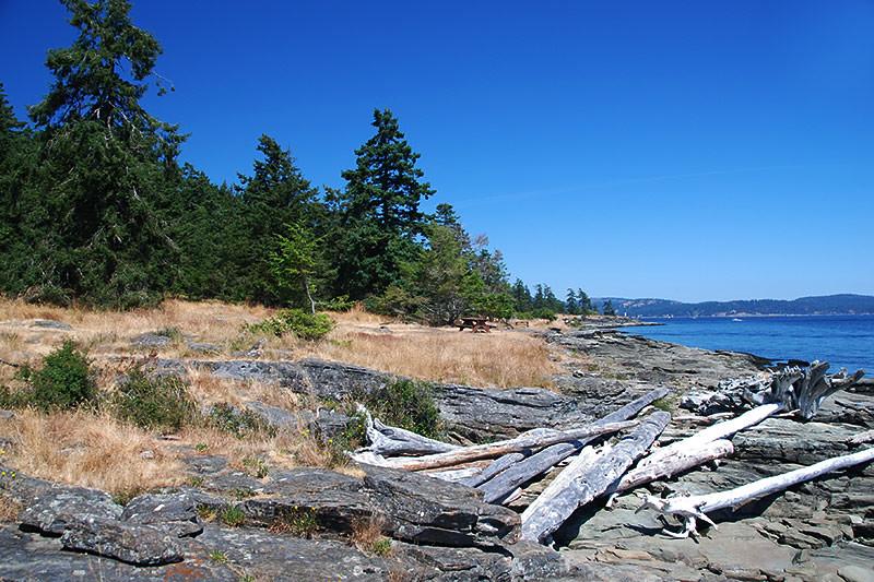 Ruckle Park, Saltspring Island, Gulf Islands National Park, British Columbia, Canada