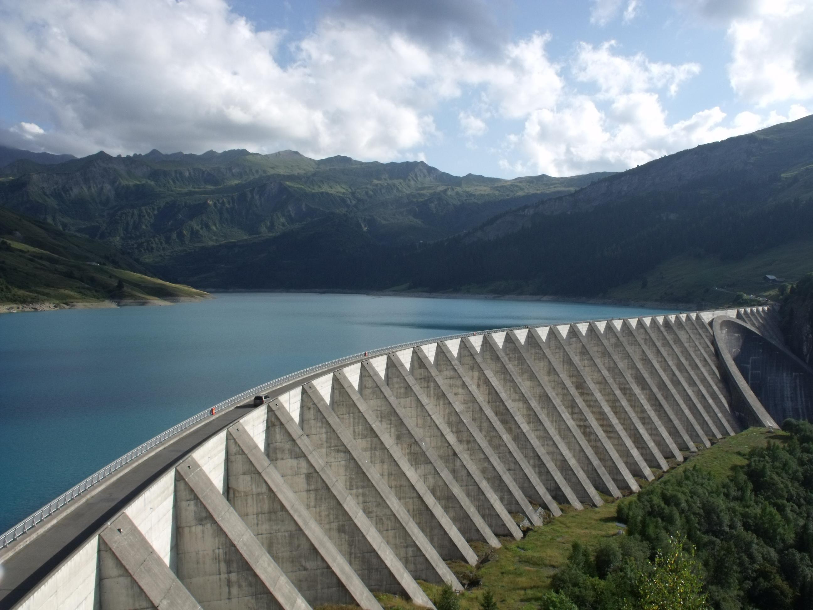Les chemins de l 39 hydro lectricit tarentaise centrale - Barrage de l odeur ...