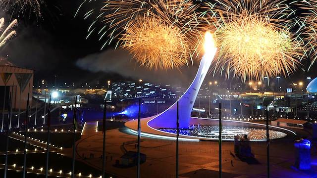Closing ceremony 2014 Olympics