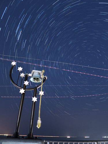 PowerShot S120 sample : Star Trails 30min.