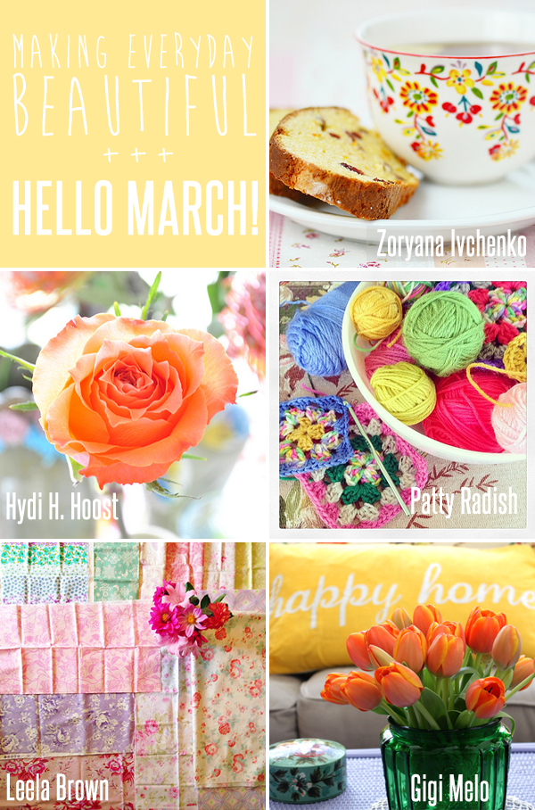 making everyday beautiful : hello March! | Emma Lamb