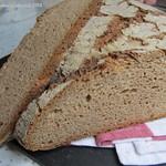 ©Vollkorn-Dinkelmischbrot mit Quark Brot Anschnitt