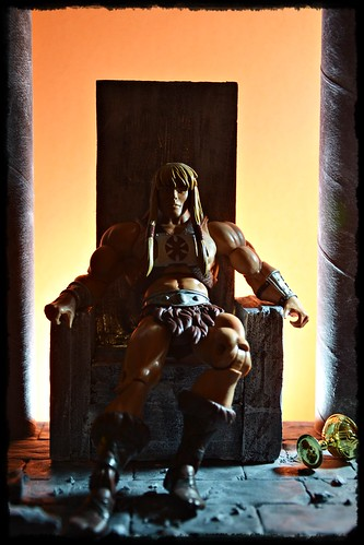 King Grayskull on Throne