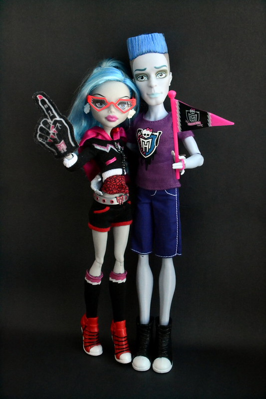Ghoulia and her Man!