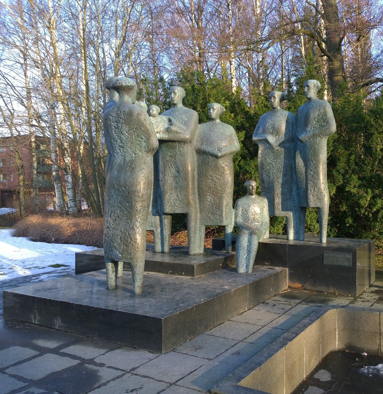 Kansojen ystävyyden monumentti