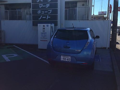プリンス和歌山田辺店 急速充電器