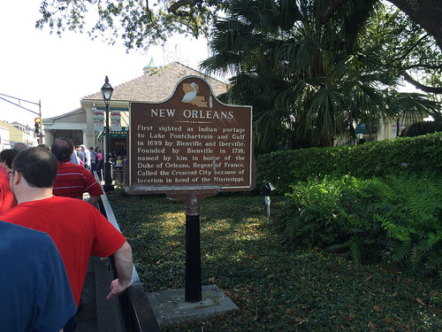Louisiana Historical Marker - New Orleans
