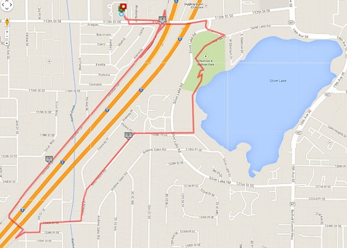 Today's awesome walk, 3.35 miles in 59 minutes