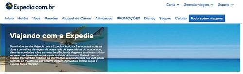 Nós no Mundo no blog de viagem da Expedia!!