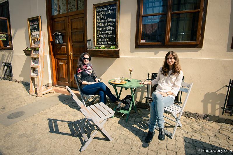 Breakfast place in Kosice, Slovakia