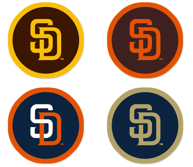 did the padres change logo sports logos chris creamer