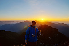 登台灣第一高峰玉山