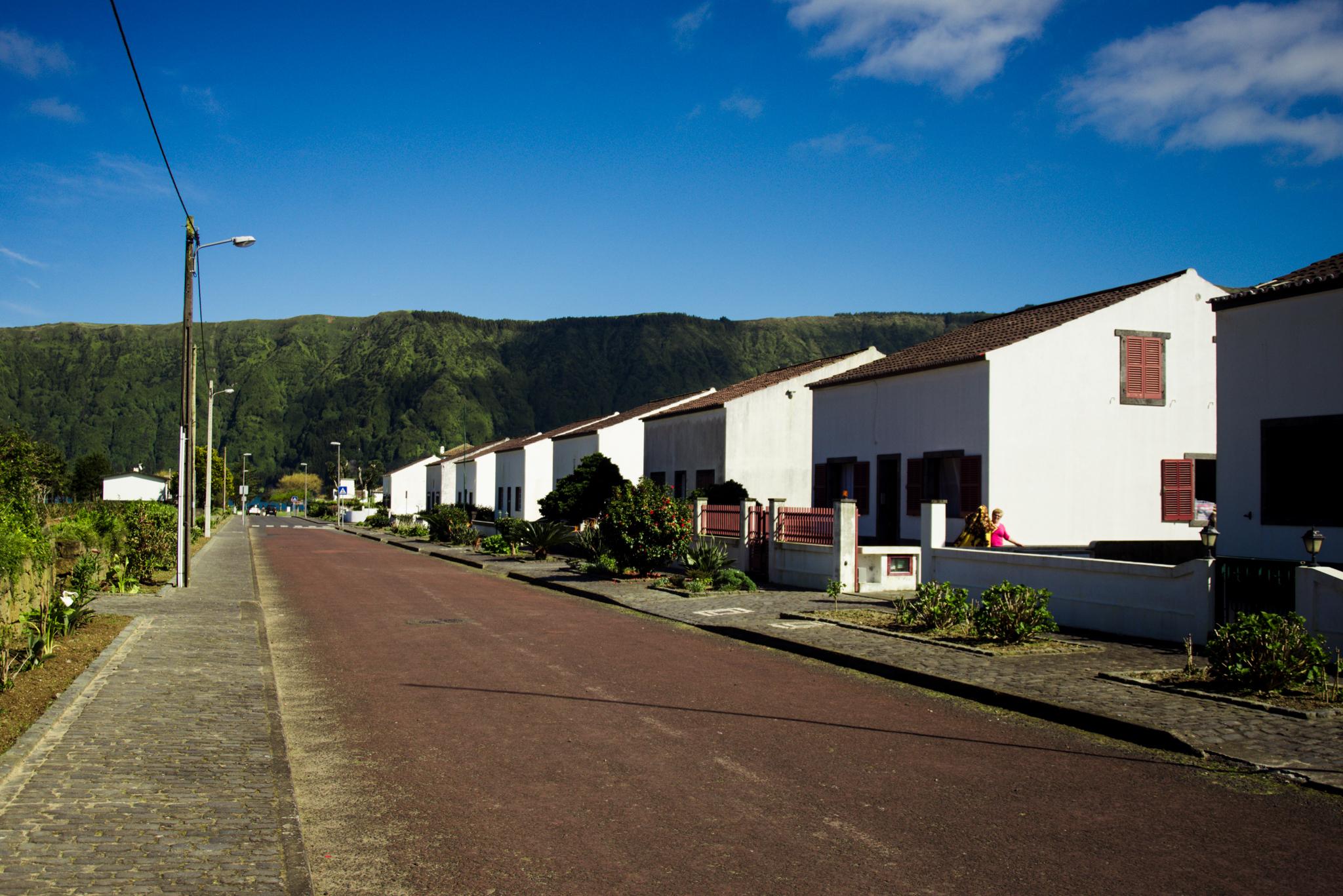 Sete Cidades házai. Fotó: Dobó Diána