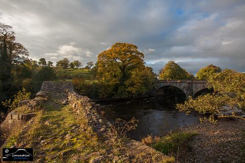 cromwells bridge river hodder ribble valley lancashire