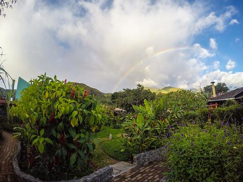 ecuador rainbow vilcabamba loja
