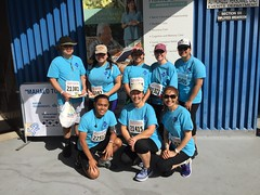 Hawaiian Electric supports Kaiser Permanente's Great Aloha Run - February 20, 2017: Group photos of employees & family members after the run