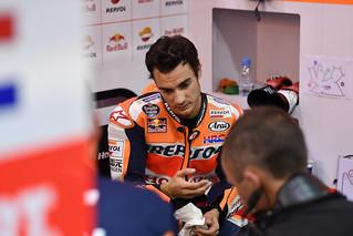 Dani Pedrosa. Test Catar 2017. MotoGP.