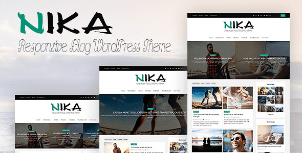 Nika WordPress Theme free download