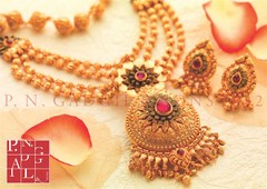 Latest Temple jewellery classics by PNG & Sons