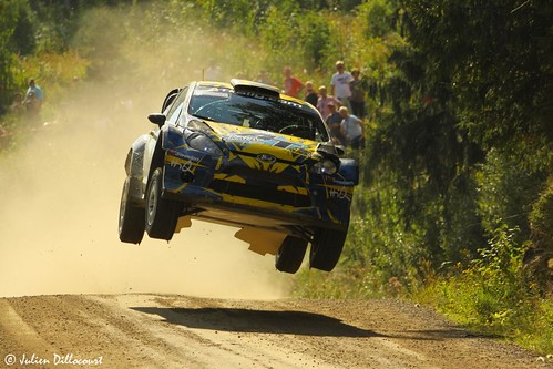 neste oil rally finland finlande rallye wrc world championship jump per gunnar andersson emil axelsson ford fiesta ouninpohja