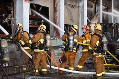 Major Emergency Commercial Fire Downtown