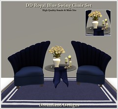 DD Royal Blue Swing Chair Set NEW Picture_001a Vendor