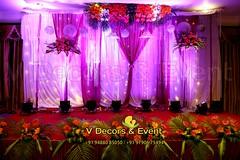 Engagement Decorations in Hotel Atithi Pondicherry