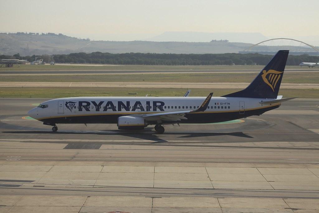 EI-FTN - B738 - Ryanair