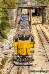 LLPX 2307   EMD GP38-2   CN Fulton Subdivision