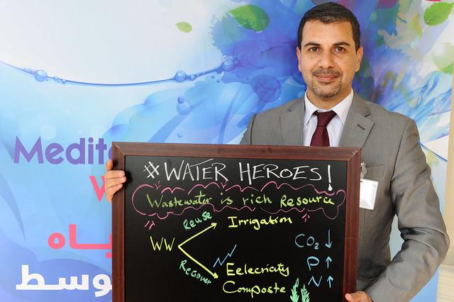 #WaterHeroes  أبطال المياه#