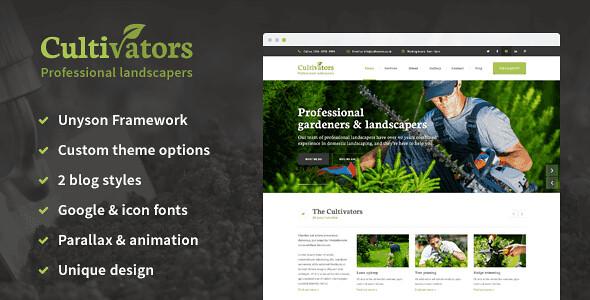 Cultivators WordPress Theme free download