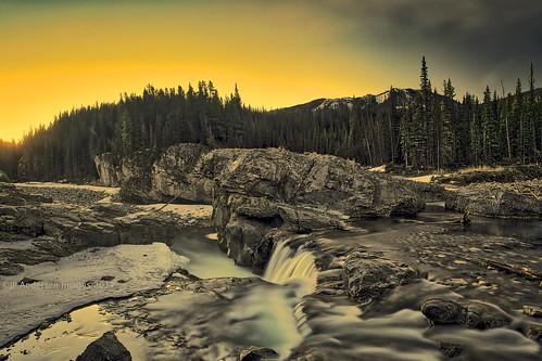 Elbow Falls Sunrise