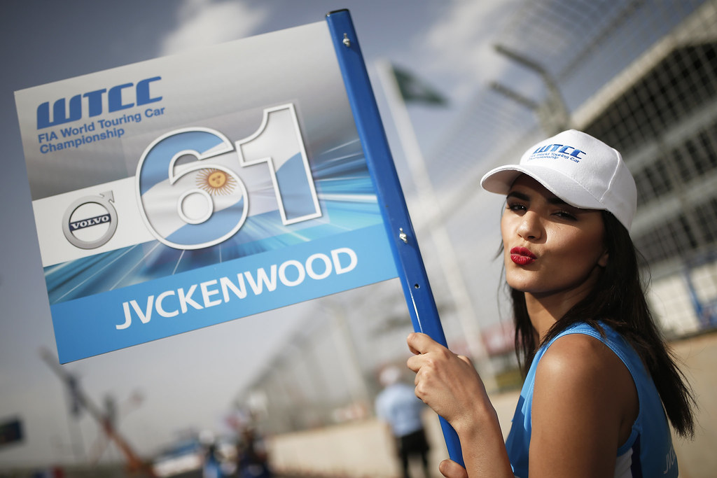 GRID GIRL ambiance during the 2017 FIA WTCC World Touring Car Race of Morocco at Marrakech, from April 7 to 9 - Photo Jean Michel Le Meur / DPPI.