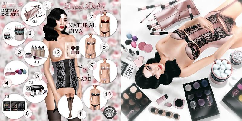 Dead Dollz - Natural Diva Gacha Collection
