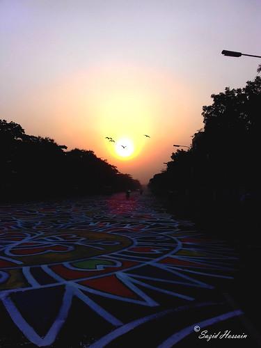sunrise bengali new year morning