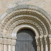 Garton-on-the-Wolds, St Michael, west doorway, chevron on arch by gordonplumb
