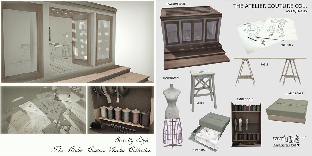 Serenity Style- The Atelier Couture Collection - SecondLifeHub.com