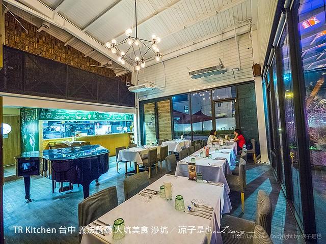 TR Kitchen 台中 義法餐廳 大坑美食 沙坑 35
