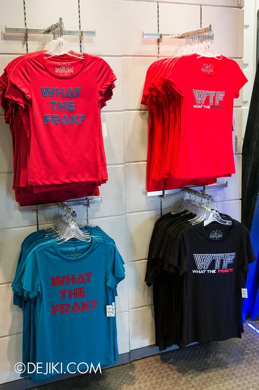 USS May Park Update - new Battlestar Galactica T-shirts 2