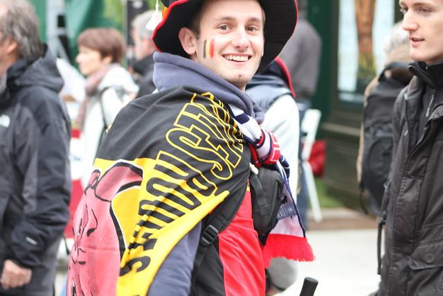 Belgian supporter